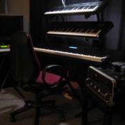 Keyboards im Tonstudio Tonetown